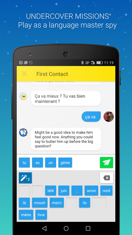 Memrise- Best app to learn different languages